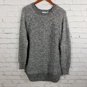 RD Style Rowca elbow patch pullover sweater